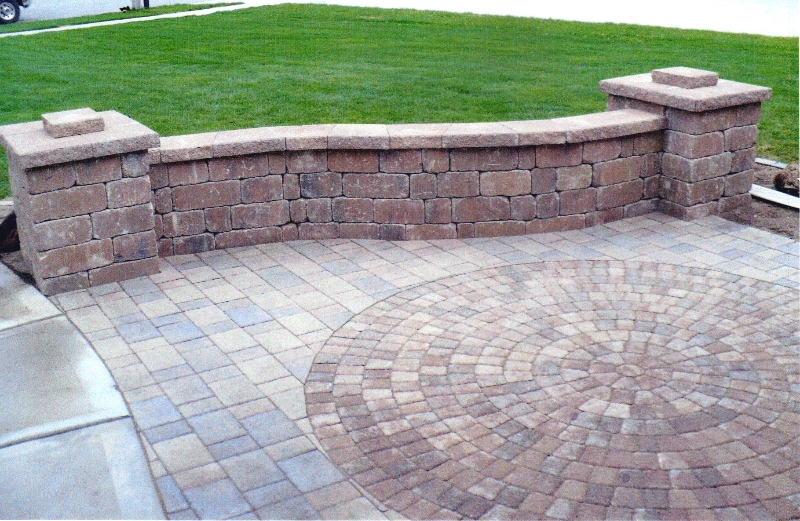Patio Pavers Pictures : Patios walkways viking bros landscaping