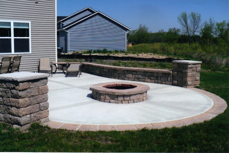 High Quality Concrete Patio 2
